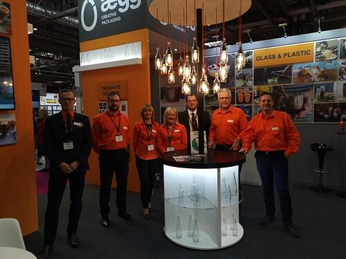 Aegg Team at Packaging Innovations